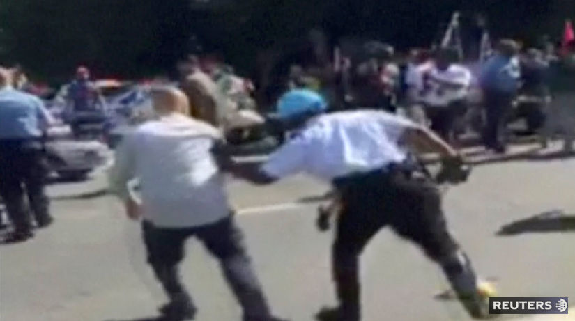 demonštrácia, násilie