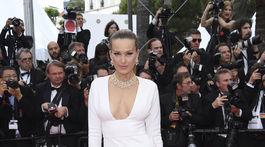 Modelka Petra Němcová zavítala tiež na festival v Cannes.