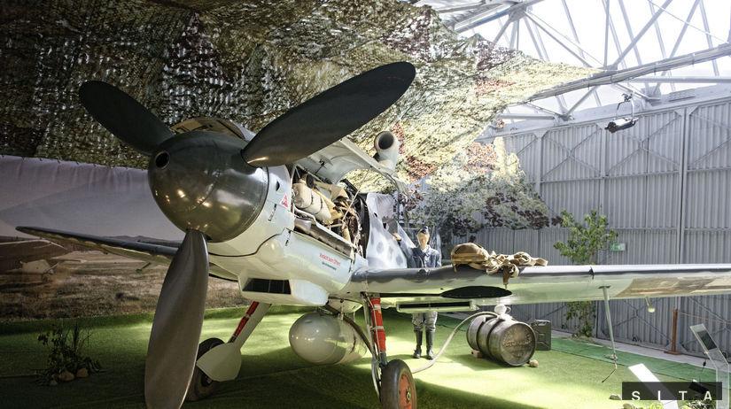MÚZEUM LETECTVA: Stíhacie lietadlo Messerschmitt