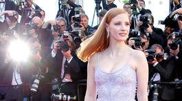 Herečka a členka festivalovej poroty Jessica Chastain.