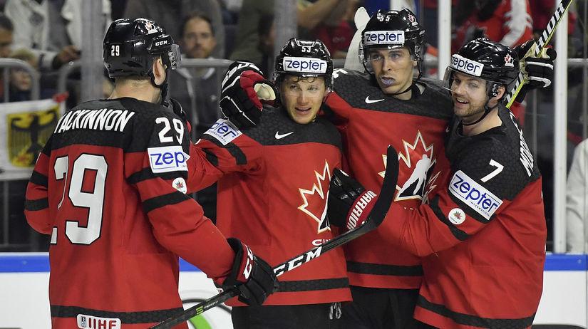 Kanada, hokej, radosť