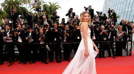 Modelka Lily Donaldson tiež dorazila na festival v Cannes.