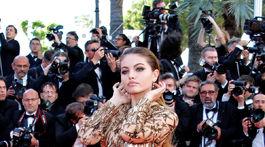 Modelka Thylane Blondeau.