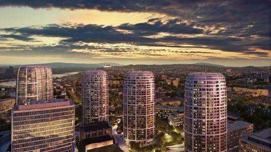 Sky Park od Zahy Hadid dostane ďalšiu vežu