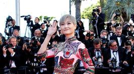 Herečka Li Yuchun.
