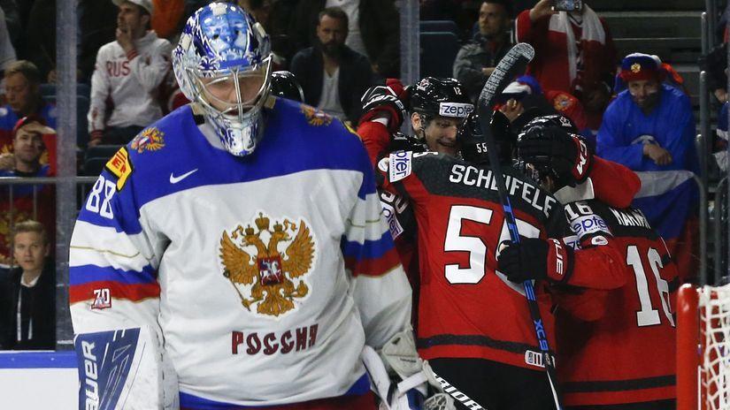 Kanada, Rusko