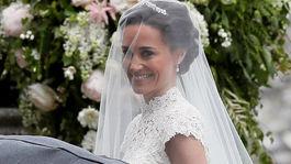 Pippa Middleton je krásna nevesta.