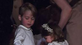 Princ George a jeho sestra Charlotte.