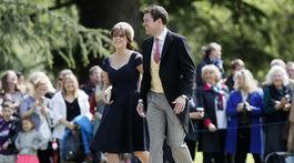 Princezná Eugenie a jej partner Jack Brooksbank