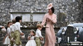 Vojvodkyňa Catherina mala na starosti detskú posádku..