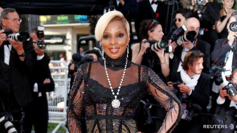 Speváčka a herečka Mary J. Blige.