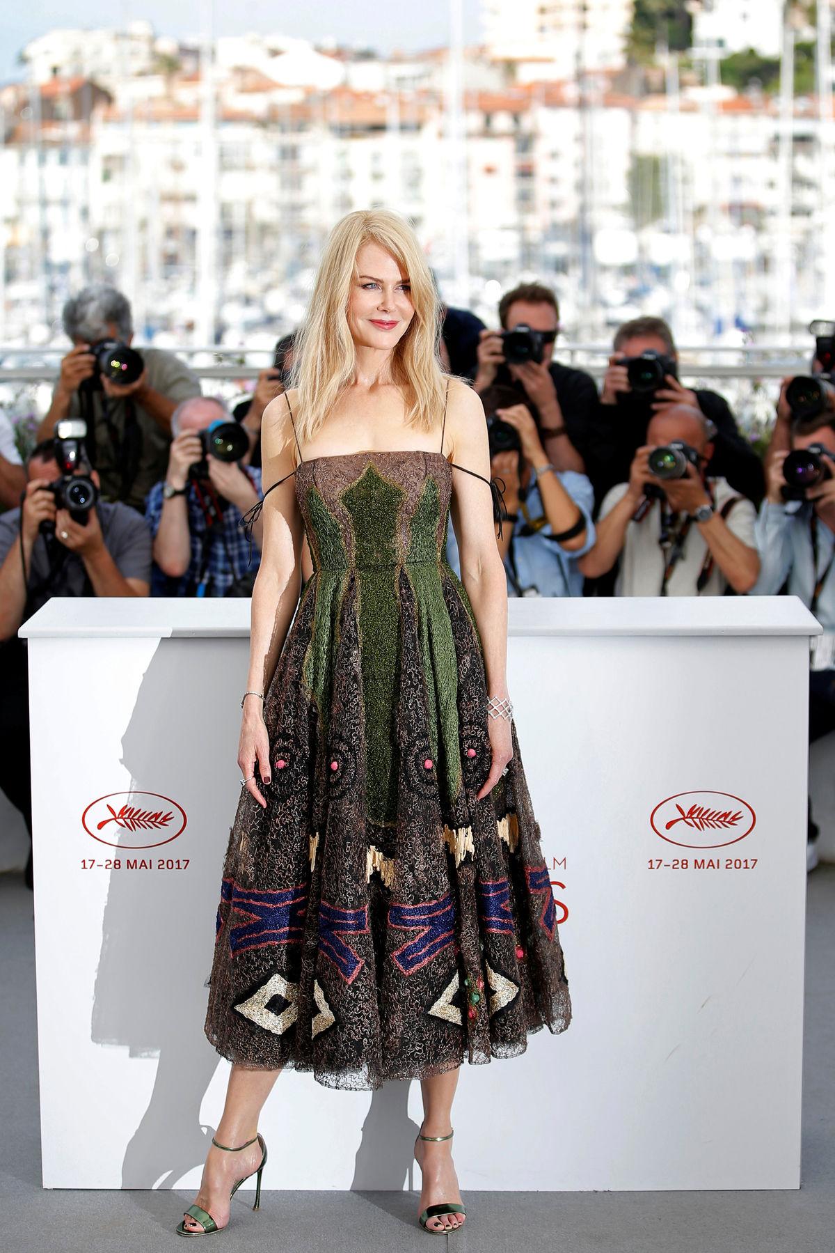 Herečka Nicole Kidman v kreácii Christian Dior Couture.
