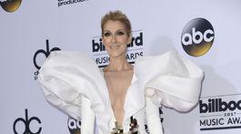 Speváčka Celine Dion v kreácii Stephane Rolland.