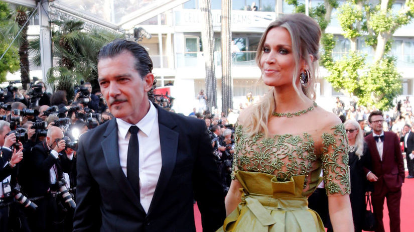 Herec Antonio Banderas a jeho priateľka Nicole...