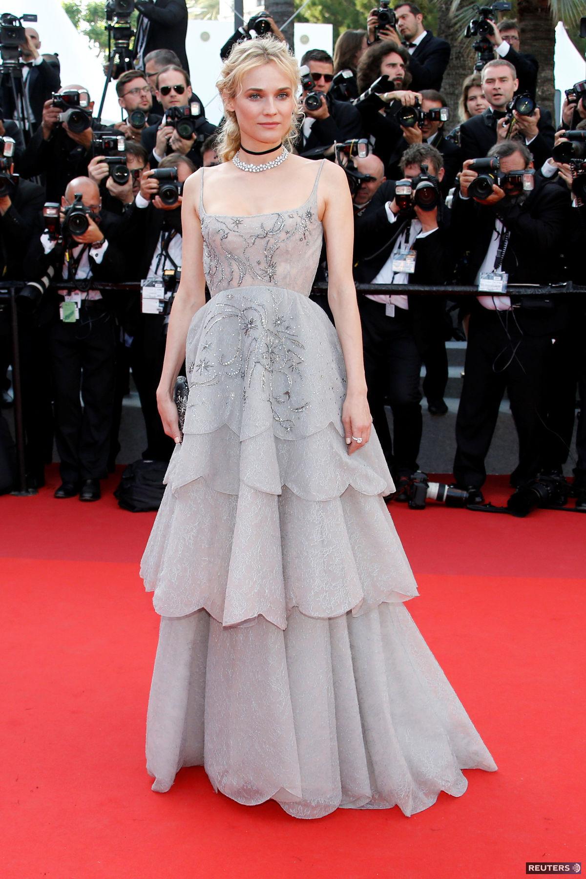 Herečka Diane Kruger.