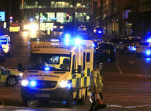Manchester, koncert, výbuch