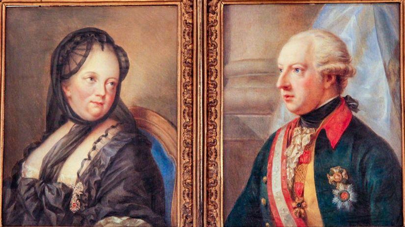 Mária Terézia, Jozef II.