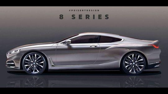 BMW 8: Z oficiálnej skice neoficiálne kupé