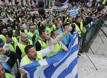 Grécko, generálny štrajk