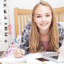 dievča, štúdium, práca, kariéra, veda, technika