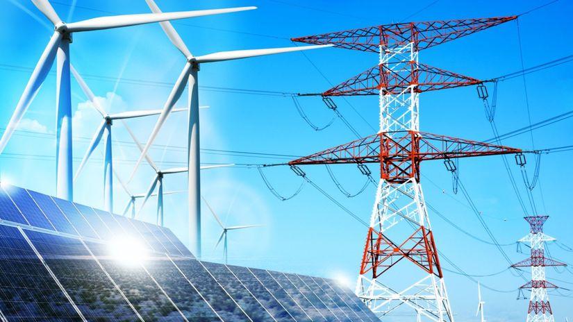 energie, elektrina, veterná energia,