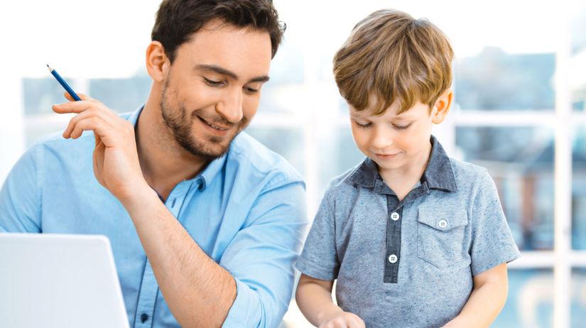 práca, kariéra, otec, syn
