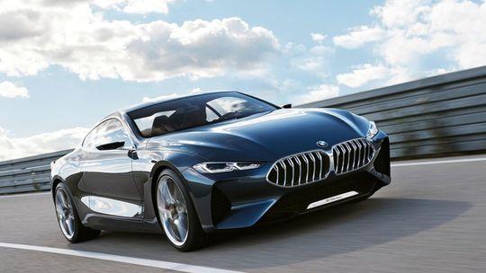 BMW 8 Concept: Luxusné športové kupé zamieša karty v prémiovom segmente