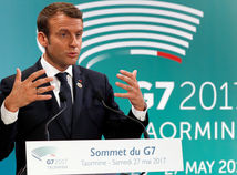 Emmanuel Macron, G7