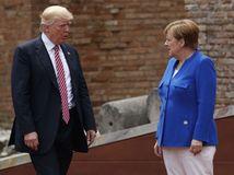 Donald Trump, Trump, Angela Merkelová, Merkel,