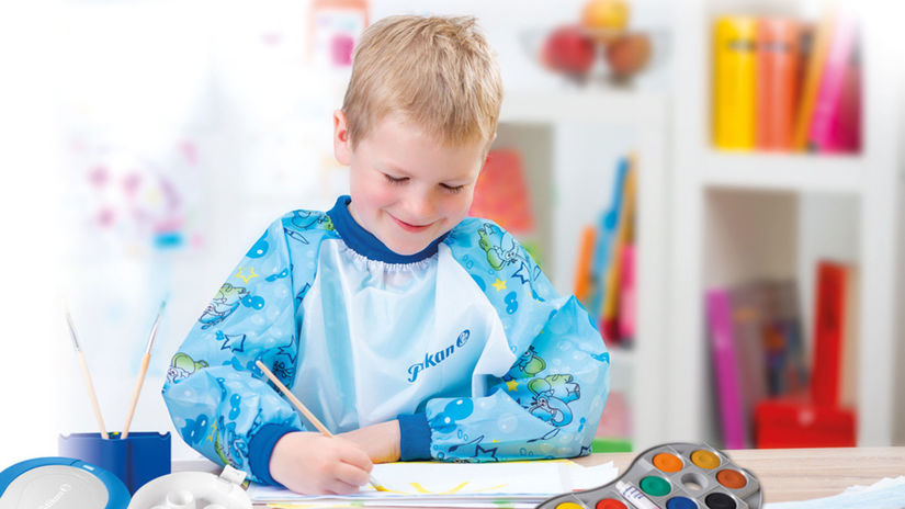 písanie, deti, kreslenie