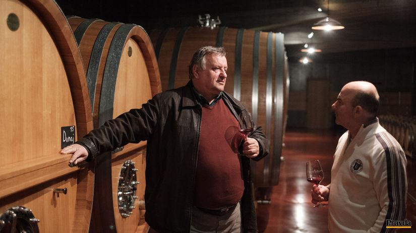 stretnutie vinarov do prilohy Vino, Miloš Michalovský