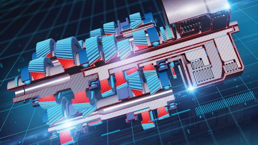 GM - trojspojková prevodovka