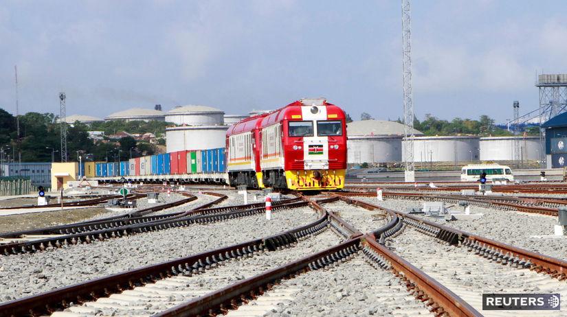 Keňa, železnica