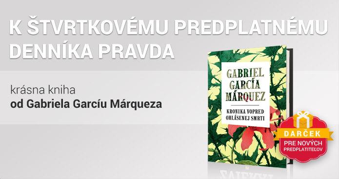 Štvrtkové predplatné s knihou od G. G. Márqueza