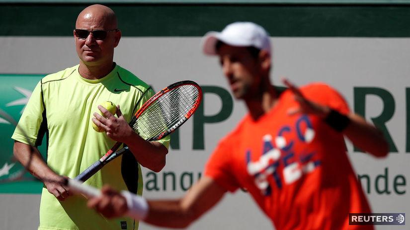Novak Djokovič, Andre Agassi