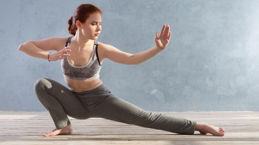 cvičenie, tai-či, joga