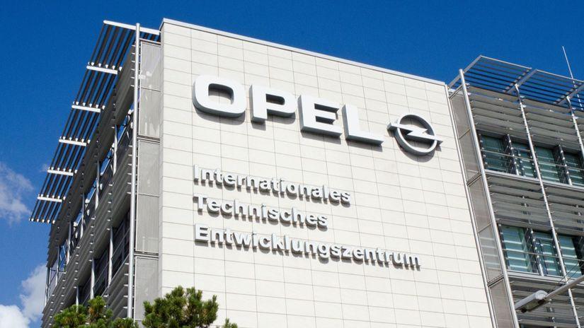 Opel - vývojové stredisko
