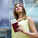 pas, cestovný pas, doklad, cestovanie, dovolenka, letisko, let, lietadlo,