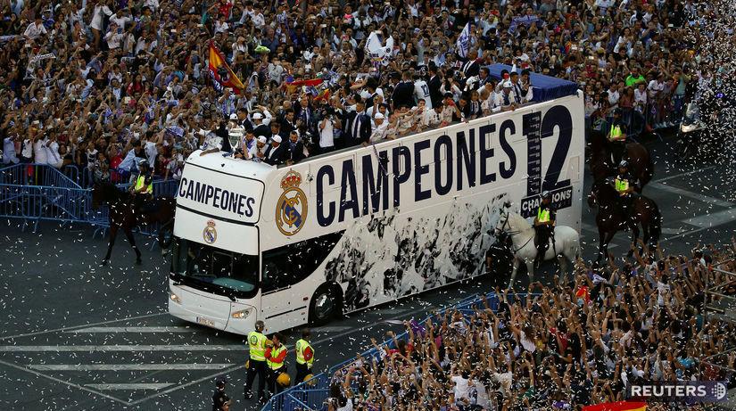 Real Madrid, Liga majstrov, oslavy