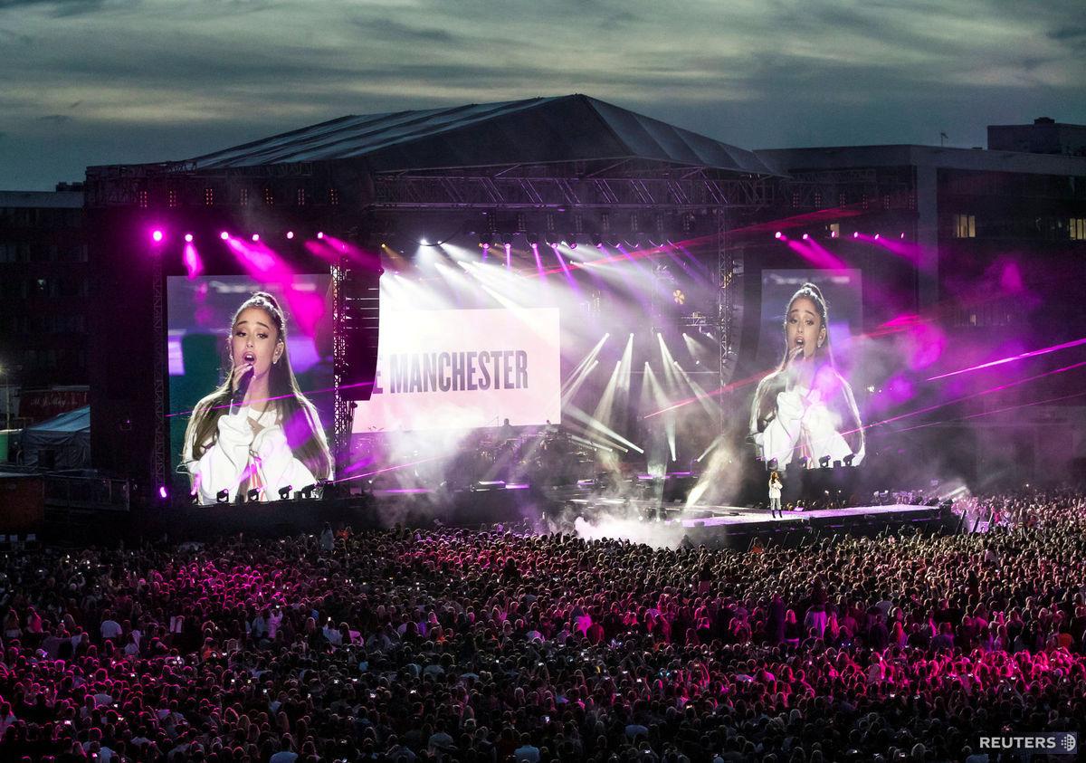 Ariana Grande, speváčka, charitatívny koncert,