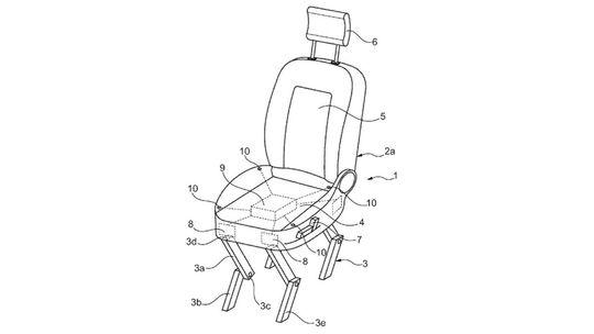 Ford si dal patentovať 'samovystupovacie' sedadlo