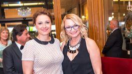 Herečky Zuzana Mauréry (vľavo) a Anka Šišková.