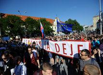 protikorupčný pochod 2, protest, demonštrácia,