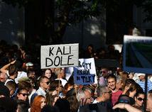 protikorupèný pochod II., kali dole, korupcia,