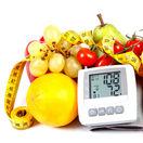ovocie a zelenina, merač tlaku, krvný tlak, meter