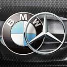 BMW  Mercedes - logo
