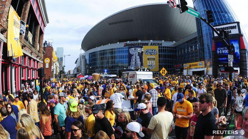 Nashville Predators, Bridgestone Arena