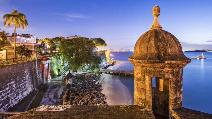 Portoriko, Puerto Rico, San Juan, Karibik