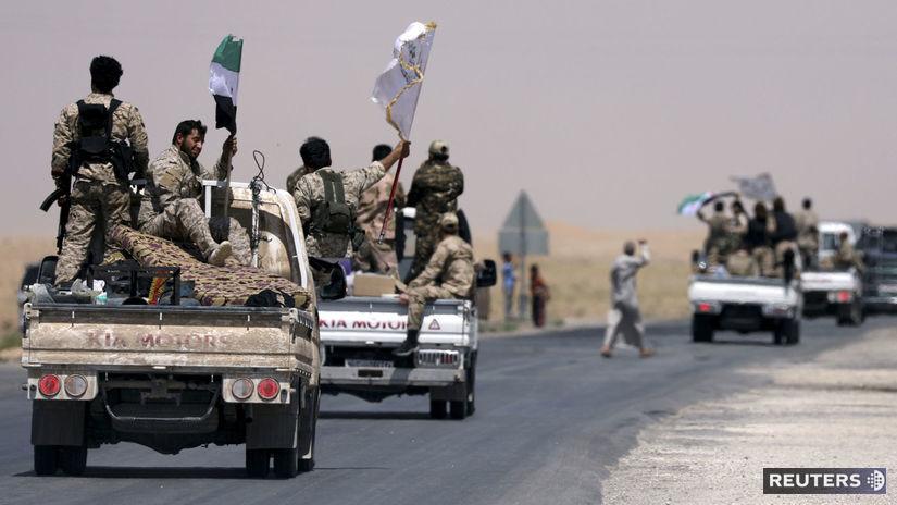 rakka, syria, bojovnici