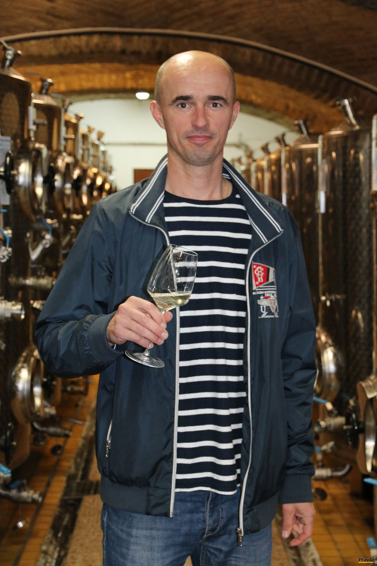 Richard Polkoráb: Dávame vínu voľnosť.